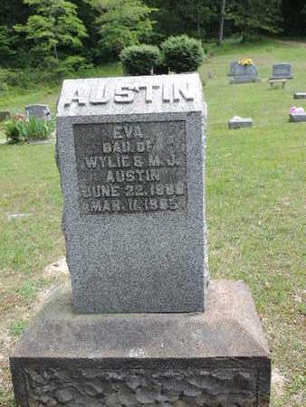 AUSTIN, EVA - Pike County, Ohio | EVA AUSTIN - Ohio Gravestone Photos
