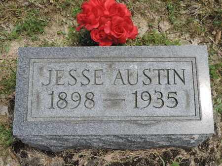 AUSTIN, JESSE - Pike County, Ohio | JESSE AUSTIN - Ohio Gravestone Photos