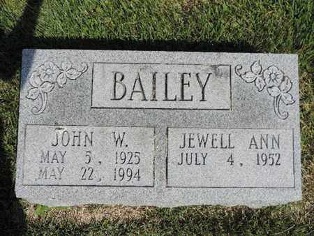 BAILEY, JEWELL ANN - Pike County, Ohio | JEWELL ANN BAILEY - Ohio Gravestone Photos