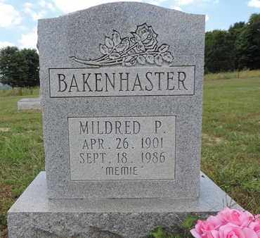 BAKENHASTER, MILDRED P. - Pike County, Ohio | MILDRED P. BAKENHASTER - Ohio Gravestone Photos