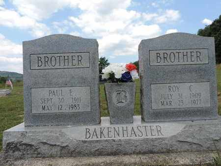 BAKENHASTER, ROY C. - Pike County, Ohio | ROY C. BAKENHASTER - Ohio Gravestone Photos