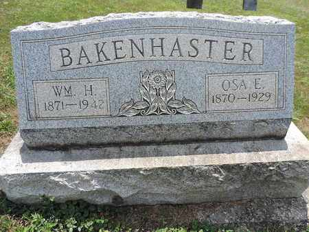 BAKENHASTER, OSA E. - Pike County, Ohio | OSA E. BAKENHASTER - Ohio Gravestone Photos