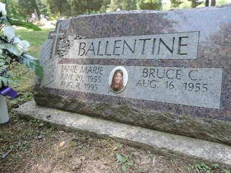 BALLENTINE, BRUCE C. - Pike County, Ohio | BRUCE C. BALLENTINE - Ohio Gravestone Photos