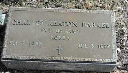 BARKER, CHARLES KEATON - Pike County, Ohio | CHARLES KEATON BARKER - Ohio Gravestone Photos