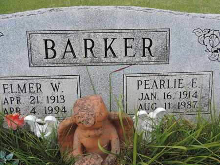 BARKER, PERLIE E. - Pike County, Ohio | PERLIE E. BARKER - Ohio Gravestone Photos