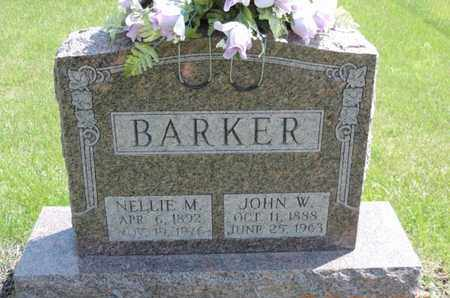BARKER, NELLIE M. - Pike County, Ohio | NELLIE M. BARKER - Ohio Gravestone Photos