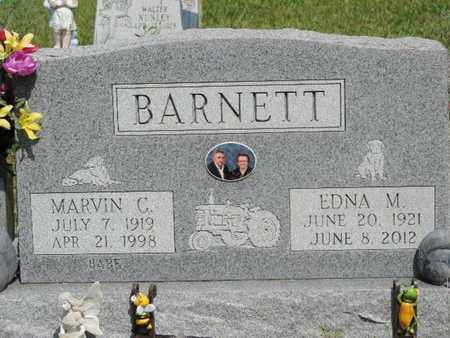 BARNETT, MARVIN C. - Pike County, Ohio | MARVIN C. BARNETT - Ohio Gravestone Photos