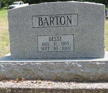 BARTON, BESSE - Pike County, Ohio | BESSE BARTON - Ohio Gravestone Photos