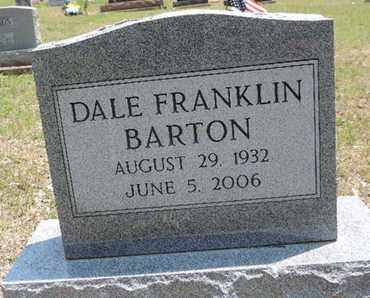 BARTON, DALE FRANKLIN - Pike County, Ohio | DALE FRANKLIN BARTON - Ohio Gravestone Photos