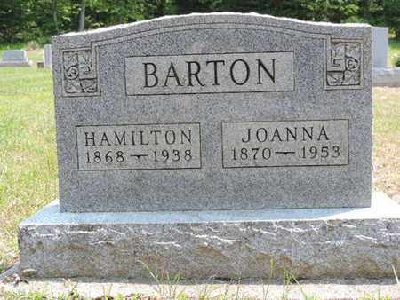 BARTON, JOANNA - Pike County, Ohio | JOANNA BARTON - Ohio Gravestone Photos