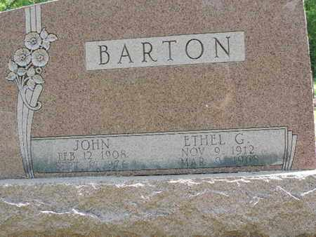 BARTON, ETHEL G. - Pike County, Ohio | ETHEL G. BARTON - Ohio Gravestone Photos