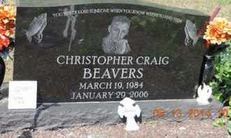 BEAVERS, CHRISTOPHER CRAIG - Pike County, Ohio | CHRISTOPHER CRAIG BEAVERS - Ohio Gravestone Photos