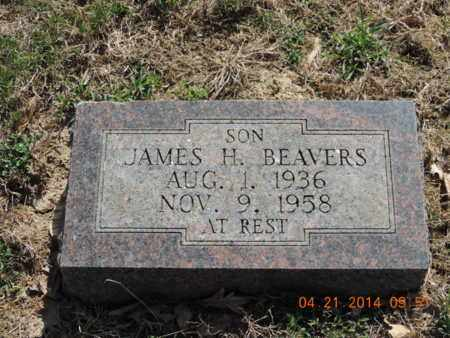 BEAVERS, JAMES H - Pike County, Ohio | JAMES H BEAVERS - Ohio Gravestone Photos