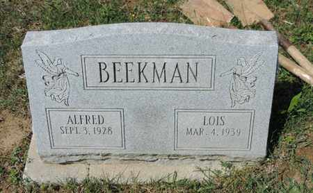 BEEKMAN, ALFRED - Pike County, Ohio | ALFRED BEEKMAN - Ohio Gravestone Photos