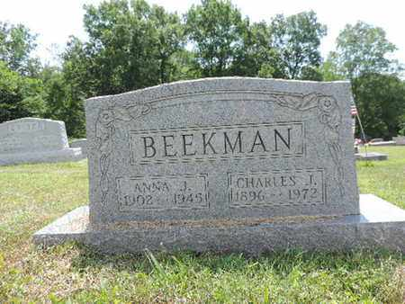 BEEKMAN, CHARLES J. - Pike County, Ohio | CHARLES J. BEEKMAN - Ohio Gravestone Photos
