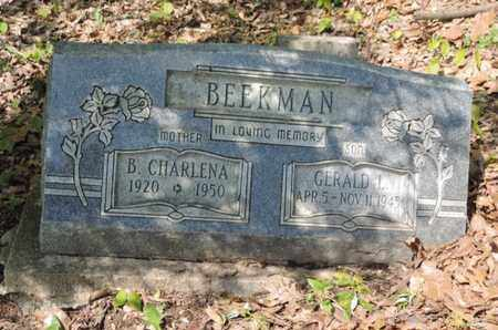 BEEKMAN, B. CHARLENA - Pike County, Ohio | B. CHARLENA BEEKMAN - Ohio Gravestone Photos