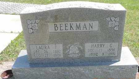 BEKKMAN, HARRY C. - Pike County, Ohio | HARRY C. BEKKMAN - Ohio Gravestone Photos