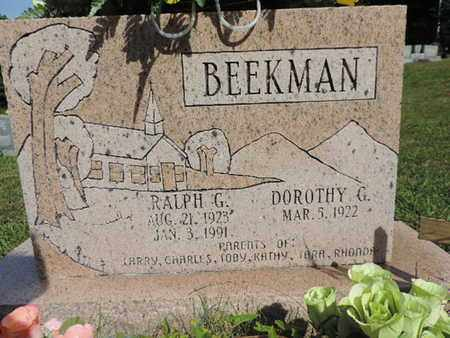BEEKMAN, DOROTHY G. - Pike County, Ohio | DOROTHY G. BEEKMAN - Ohio Gravestone Photos
