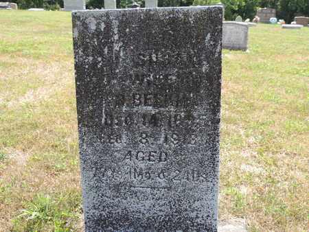 BEEKMAN, SUSAN - Pike County, Ohio   SUSAN BEEKMAN - Ohio Gravestone Photos