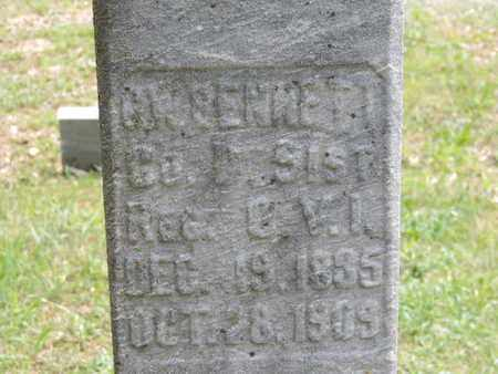 BENNETT, C.W. - Pike County, Ohio | C.W. BENNETT - Ohio Gravestone Photos
