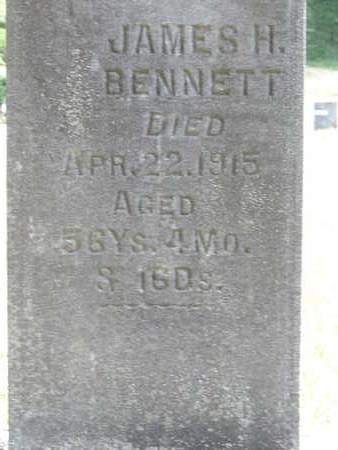 BENNETT, JAMES H. - Pike County, Ohio | JAMES H. BENNETT - Ohio Gravestone Photos