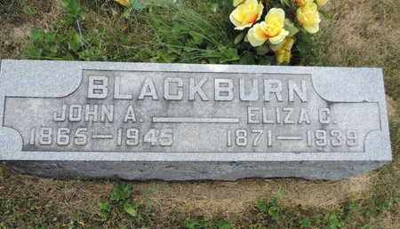 BLACKBURN, JOHN A. - Pike County, Ohio | JOHN A. BLACKBURN - Ohio Gravestone Photos