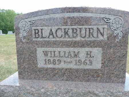 BLACKBURN, WILLIAM H. - Pike County, Ohio | WILLIAM H. BLACKBURN - Ohio Gravestone Photos