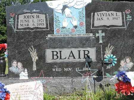 BLAIR, JOHN H. - Pike County, Ohio | JOHN H. BLAIR - Ohio Gravestone Photos