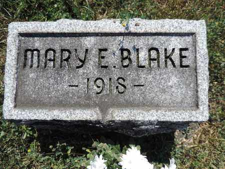 BLAKE, MARY E. - Pike County, Ohio | MARY E. BLAKE - Ohio Gravestone Photos