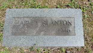 BLANTON, HARVEY - Pike County, Ohio | HARVEY BLANTON - Ohio Gravestone Photos