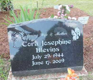 BLEVINS, CORA JOSEPHINE - Pike County, Ohio | CORA JOSEPHINE BLEVINS - Ohio Gravestone Photos