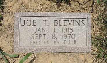 BLEVINS, JOE T. - Pike County, Ohio | JOE T. BLEVINS - Ohio Gravestone Photos