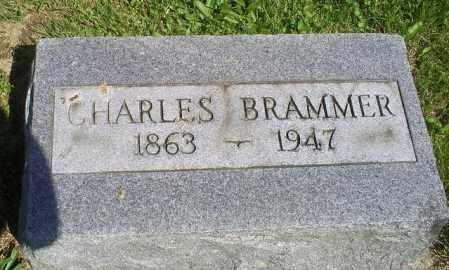 BRAMMER, CHARLES - Pike County, Ohio | CHARLES BRAMMER - Ohio Gravestone Photos