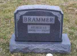 BRAMMER, HURLESS - Pike County, Ohio | HURLESS BRAMMER - Ohio Gravestone Photos