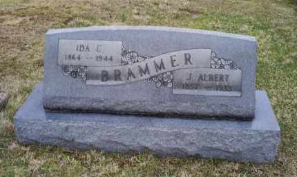 BRAMMER, J. ALBERT - Pike County, Ohio | J. ALBERT BRAMMER - Ohio Gravestone Photos