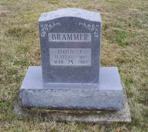 BRAMMER, LLOYD F. - Pike County, Ohio | LLOYD F. BRAMMER - Ohio Gravestone Photos