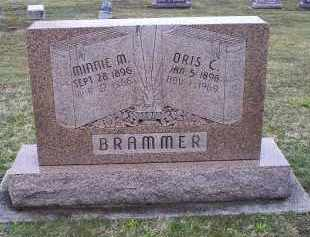 BRAMMER, MINNIE M. - Pike County, Ohio | MINNIE M. BRAMMER - Ohio Gravestone Photos