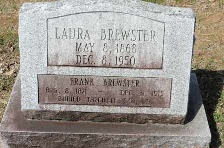 BREWSTER, LAURA - Pike County, Ohio | LAURA BREWSTER - Ohio Gravestone Photos