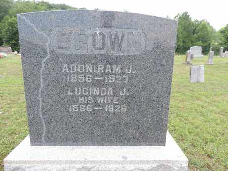BROWN, LUCINDA J. - Pike County, Ohio | LUCINDA J. BROWN - Ohio Gravestone Photos