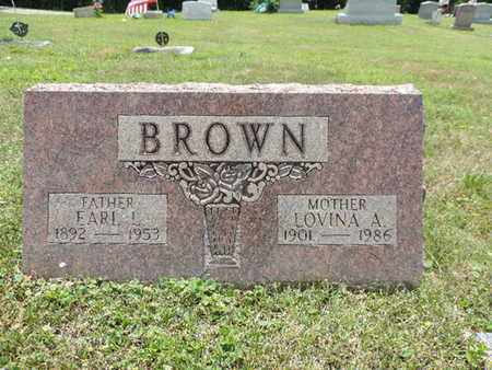 BROWN, EARL L. - Pike County, Ohio | EARL L. BROWN - Ohio Gravestone Photos
