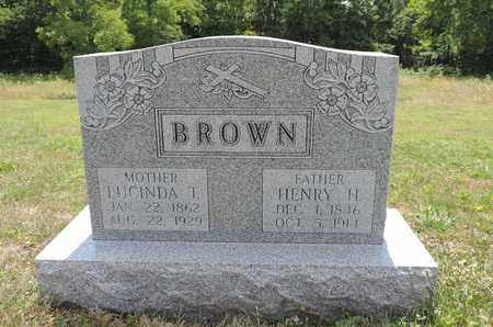 BROWN, HENRY H. - Pike County, Ohio | HENRY H. BROWN - Ohio Gravestone Photos