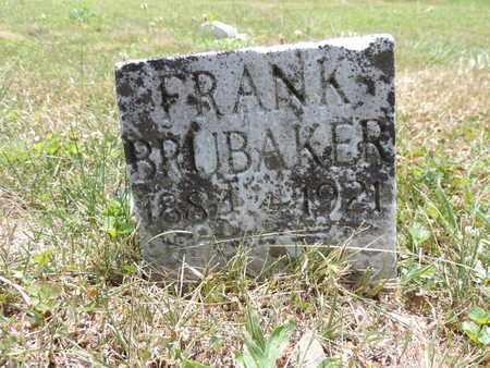 BRUBAKER, FRANK - Pike County, Ohio | FRANK BRUBAKER - Ohio Gravestone Photos