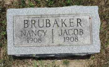 BRUBAKER, NANCY - Pike County, Ohio | NANCY BRUBAKER - Ohio Gravestone Photos