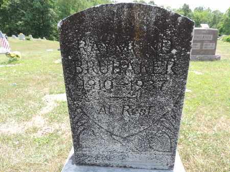 BRUBAKER, RAYMOND - Pike County, Ohio | RAYMOND BRUBAKER - Ohio Gravestone Photos