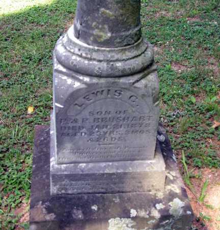 BRUSHART, LEWIS C. - Pike County, Ohio   LEWIS C. BRUSHART - Ohio Gravestone Photos