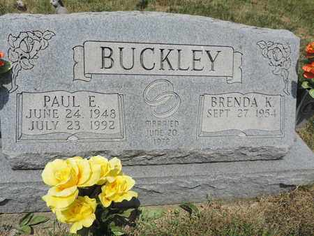 BUCKLEY, PAUL E - Pike County, Ohio | PAUL E BUCKLEY - Ohio Gravestone Photos