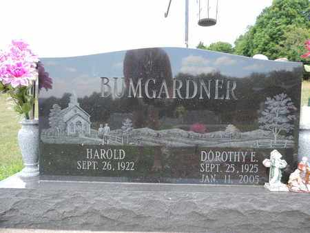 BUMGARDNER, DOROTHY E. - Pike County, Ohio | DOROTHY E. BUMGARDNER - Ohio Gravestone Photos