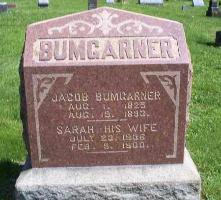 BUMGARNER, SARAH - Pike County, Ohio | SARAH BUMGARNER - Ohio Gravestone Photos