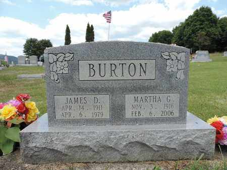BURTON, MARTHA G. - Pike County, Ohio | MARTHA G. BURTON - Ohio Gravestone Photos