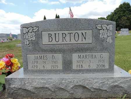 BURTON, MARTHA G. - Pike County, Ohio | MARTHA G. BURTON - Ohio Gravestone Photos